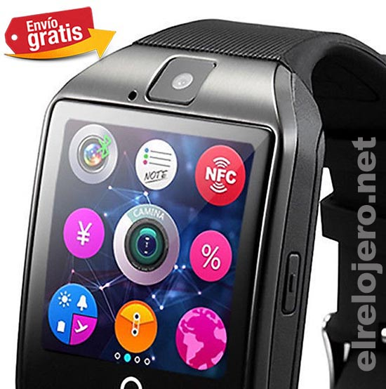 .RELOJ + TELEFONO BLUETOOTH USB PANTALLA TACTIL MP3
