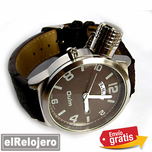 RELOJ ANALOGICO DIGITAL UNISEX ESFERA MARRON